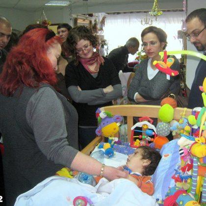 ביקור רופאים מומחים לבריאות המשפחה בעמותה – 8.2.2012