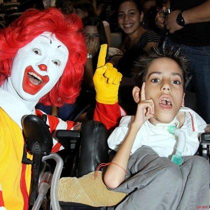ערב התרמה, בר מצווה ובת מצווה לילדים מונשמים במרכז הקונגרסים בחיפה – 20.6.2010